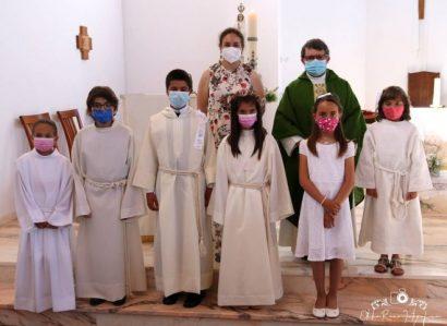 Paróquia de Foros de Vale de Figueira: Batismo e Primeira Comunhão