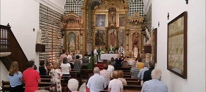 11 de julho, às 11h30: Arcebispo de Évora presidiu à Eucaristia dominical na Igreja de São Brás