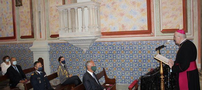 Arcebispo de Évora: Saudação ao Senhor Presidente da República no Santuário de Nossa Senhora de Aires