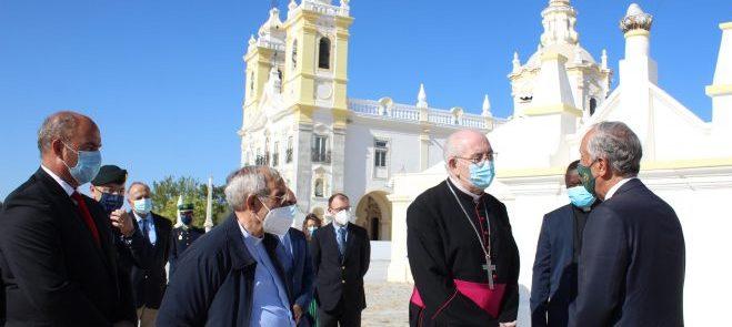 O Professor Marcelo Rebelo de Sousa visitou o Santuário de Nossa Senhora d'Aires como peregrino e devoto de Maria