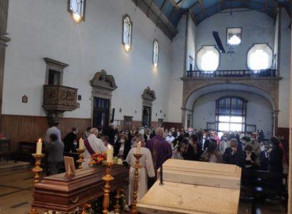 3 de Agosto: Arcebispo de Évora presidiu às exéquias fúnebres do Cónego Salvador Dias Terra (c/Homilia)