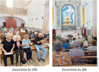 Paróquia de Barbacena: Celebrações de N.ª Sr.ª do Paço