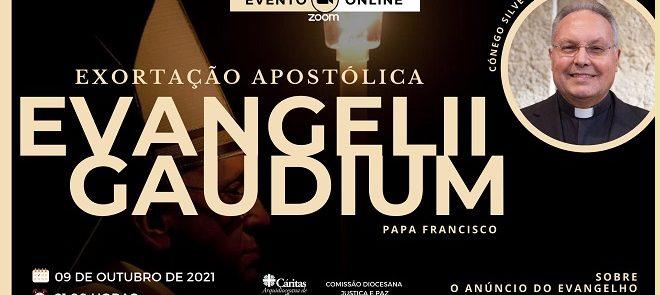 Reveja a 1.ª Conferência sobre a Exortação Apostólica Evangelii Gaudium