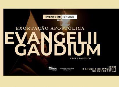 23 de outubro, às 21h, no ZOOM: II Sessão da Conferência sobre a Exortação Apostólica Evangelii Gaudium