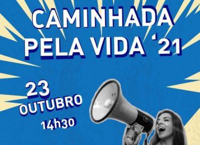 23 de outubro, às 14h30: Caminhada pela Vida realiza-se em Évora (c/ Vídeo)